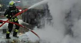 Utrudnienia na Racławickiej. Trwa akcja gaśnicza pożaru jednego z zakładów