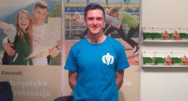 Bartek - student AWF na Targach Perspektywy 2018