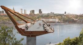 Jest umowa na projekt mostu pieszo-rowerowego przez Wisłę
