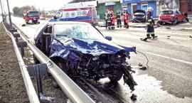 Tragiczny wypadek w Raszynie. Nie żyje jedna osoba, 3 są ranne...[ZDJECIA]