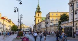 Weekendowy deptak czyli Krakowskie Przedmieście bez samochodów