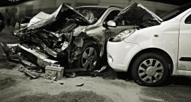 Wypadek na rondzie Reagana. Pięć osób w szpitalu, pięć zniszczonych aut... [ZDJĘCIA]