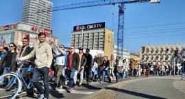 Piesza Masa Krytyczna w czerwcu na ulicach miasta
