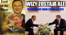 Prezydent Andrzej Duda w KFC [MEMY]