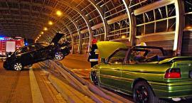 BMW na barierach [ZDJĘCIA]