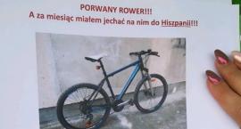 Panie Złodziej – bądź Pan Człowiekiem czyli apel o pomoc w odnalezieniu porwanego roweru