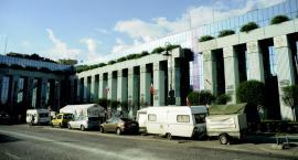 Protest pod Sądem Najwyższym w Warszawie