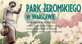 Przedwojenny Park Żeromskiego - dzisiaj otwarcie wystawy