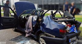 Zderzenie trzech aut. Jedna osoba ciężko ranna [ZDJĘCIA]