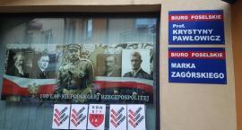 Wyrok za wieszanie plakatów z napisem KONSTYTUCJA