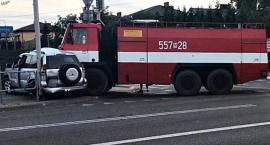 Straż pożarna jadąca do pożaru zderzyła się z autami osobowymi [ZDJĘCIA]