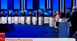 Bój o Warszawę: jak pokazali się kandydaci? Relacja (wybiórcza) z debaty prezydenckiej