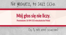 """Nie głosujesz? To siedź cicho! Czy Warszawa powalczy o tytuł """"największego cichacza"""" w Polsce?"""