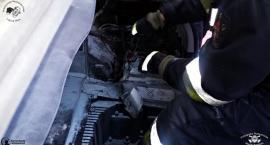 Pożar akumulatora w BMW [ZDJĘCIA]