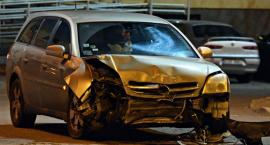 Wypadek na Jagiellońskiej. Jedna osoba ranna [ZDJĘCIA]