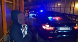 Pijany Ukrainiec zatrzymany przez taksówkarza [ZDJĘCIA]
