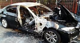 Spalił samochód, bo był zazdrosny? [ZDJĘCIA]