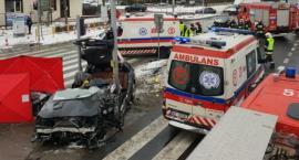 Tragedia na krajowej 7... Jedna osoba zginęła, jedna ranna