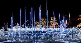 Muzyka, feeria kolorowych świateł - świąteczne pokazy na Podzamczu