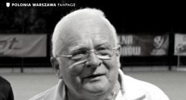 Zmarł Stanisław Kralczyński, jedna z legend Polonii Warszawa