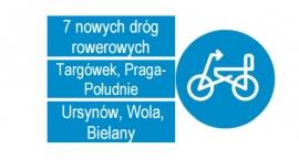 Drogowcy wybudują siedem nowych dróg rowerowych