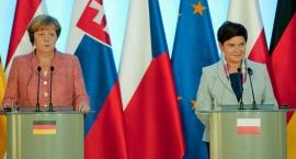 Spotkanie szefów rządów państw Grupy Wyszehradzkiej. Beata Szydło spotkała się z Angelą Merkel