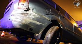 Zderzenie samochodu osobowego z ciężarówką [ZDJĘCIA]