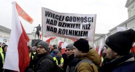 Protest rolników w Warszawie [ZDJĘCIA]