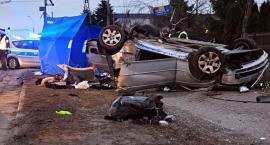 Policyjny pościg za BMW. Dwie osoby zginęły [ZDJĘCIA]