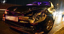 Zderzenie czterech samochodów na S8 [ZDJĘCIA]