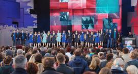 Koncert Chórem za Europą na placu Piłsudskiego