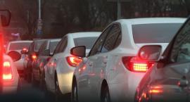 S8: zderzenie aut i duży korek