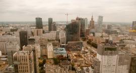 Panorama Warszawy z wieżowca Warsaw Spire [ZDJĘCIA]