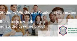 Rekrutacja uzupełniająca na studia cywilne w WAT