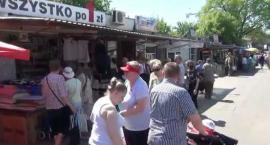 Bazar na Banacha zamknięty