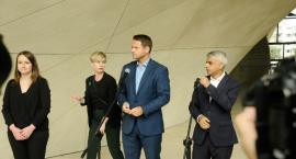 Spotkanie Sadiq Khana i Rafała Trzaskowskiego [ZDJĘCIA]