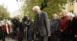 Odsłonięcie tablicy poświęconej zmarłemu Generałowi Zbigniewowi Ścibor-Rylskiemu [ZDJĘCIA]