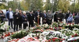 Pogrzeb Kornela Morawieckiego na Powązkach [ZDJĘCIA]