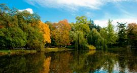 Piękna jesień w Parku Ujazdowskim [ZDJĘCIA]