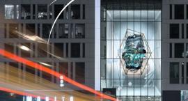 Cyfrowa rzeźba na placu Unii Lubelskiej