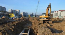Na Bródnie trwa budowa stacji II linii metra