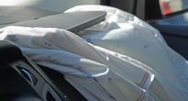 Zderzenie czterech samochodów na Czerniakowskiej