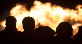 Zapaliły sięstragany na jarmarku świątecznymP