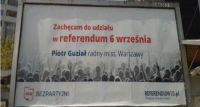 6 września idźmy na referendum!