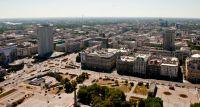 Panorama Warszawy z PKiN