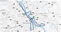 Trasa 37. PZU Maratonu Warszawskiego