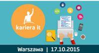 Bezpłatne Targi Kariera IT w Warszawie – 17.10.2015