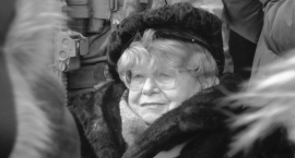 """Pogrzeb M. Stypułkowskiej-Chojeckiej """"Kamy"""""""