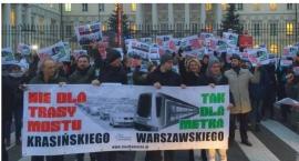 Żoliborz organizuje w sobotę protest przeciwko budowie Mostu Krasińskiego