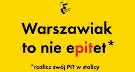 Warszawiak to nie ePITet - rozlicz swój PIT w stolicy